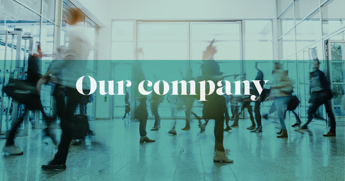 Banner image - Our company